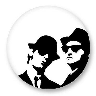 "Pin Button Badge Ø25mm 1"" The Blues Brothers Soul Blues"
