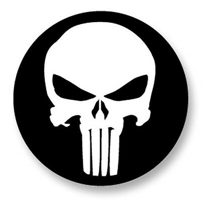 "Pin Button Badge Ø25mm 1"" The Punisher Marvel Comics Logo Super Heros Hero"