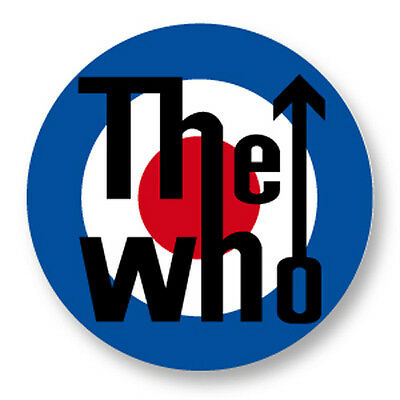"Pin Button Badge Ø25mm 1"" The Who The High Numbers Hard Rock Roger Daltrey"