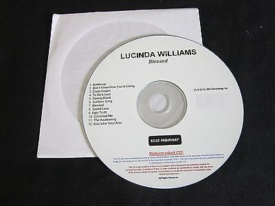 Lucinda Williams 'Blessed' 2010 Advance Cd