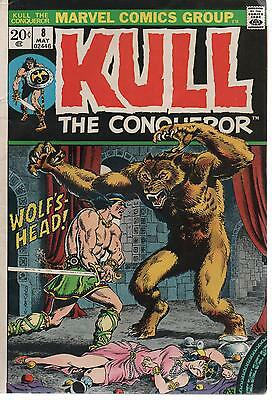Kull the Conqueror 8      Marvel 1973