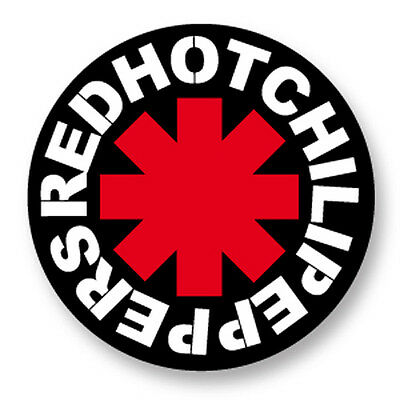 Pin Button Badge Ø38mm Red Hot Chili Peppers Red Hot RHCP