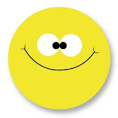 Pin Button Badge Ø38mm Smiley Face Smile Smiling Emo Emoticones Happy Face