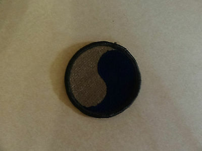 MILITARY PATCH US ARMY COLORED FOR SHOULDER 29TH INFANTRY DIVISION