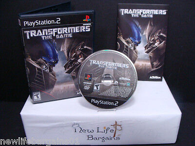 PS2 Game Transformers The Game