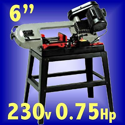 SIP 07288 150mm 3 SPEED SWIVEL METAL CUTTING BANDSAW 6 with blade & stand