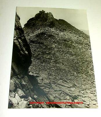 VINTAGE ORIGINAL GEORGE FORBES OLD WESTERN ROCKY MOUNTAINS PHOTOGRAPH PHOTO WEST
