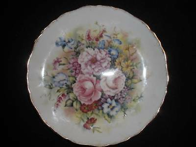 "Collector Plate ""flowers Of The Season""summer Royal Kent England"