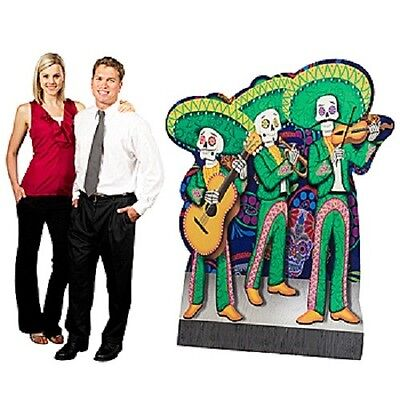 DAY OF THE DEAD MARIACHI BAND STANDEE * day of the dead theme party * halloween