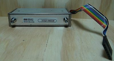 HP MODEL 33321-60029 ATTENUATOR Programmable 3-Section 6GHz 75DB