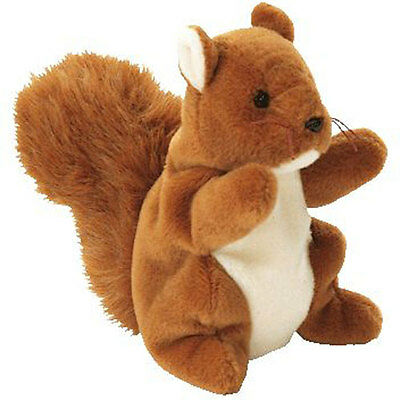 TY Beanie Baby - NUTS the Squirrel (5.5 inch) MWMT's - Stuffed Animal Toy