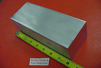 1 pc 2X4X6 new 6061 solid aluminum stock plate flat bar cnc mill milling tool