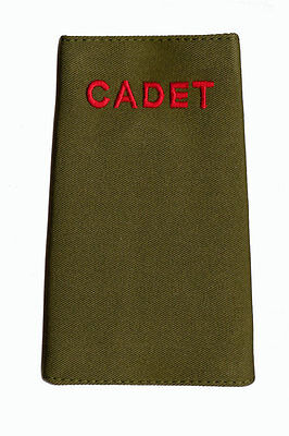 New Official ACF / CCF CADET RANK SLIDE for MTP ( Army Cadet Force Olive Green