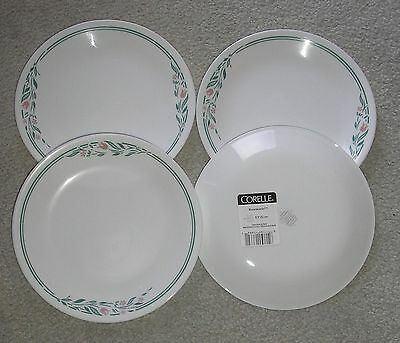 CORNING CORELLE ROSEMARIE  LOT OF 4 LUNCH SALAD PLATES