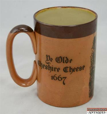 Antique Royal Doulton Mug Stein Tankard De Olde Cheshire Cheese 1667 Salt Glaze