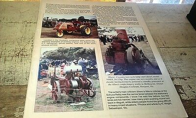 TOMM 109 The Old Machinery Mag Crossley Reading Bros Eclipse etc