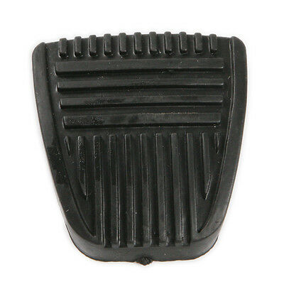 Black Clutch & Brake Braking Pedal Pad Rubber set replacement For Toyota
