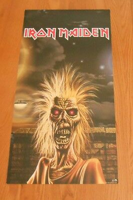 Iron Maiden Rock in Rio 1998 Original Poster Double Sided RARE 12x24