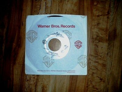 """ERIC CLAPTON  USA DJ 7"""" 45 BEHIND THE MASK, 3:38 edit promo on WB/Duck, 1986"""