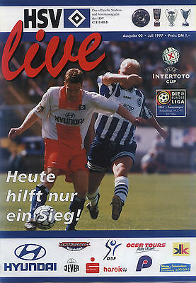 UI-Cup 19.07.1997 Hamburger SV - Samsunspor, InterToto Cup