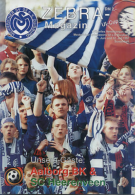 UI-Cup 28.06.1997 MSV Duisburg - Aalborg BK, InterToto Cup