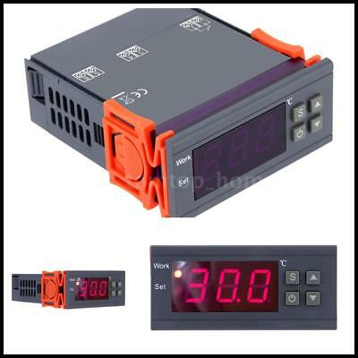 Digital Temperature Control Controller 90~250V 110V 220V 10A Thermostat w/Sensor