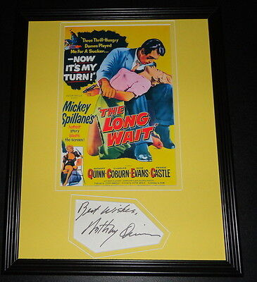 Anthony Quinn Facsimile Signed Framed 11x14 Photo Display The Long Wait
