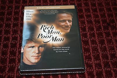 Rich Man, Poor Man: The Complete Collection DVD *Brand New Sealed*