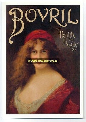 ad1561 - Bovril for health & beauty - modern advert postcard
