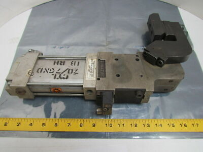 Tunkers KU 50 V A034 T22 NPT Pneumatic Power Clamp 045-130 degree used