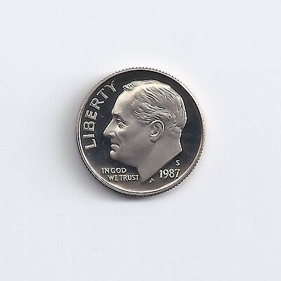 1987-S   Proof Dime