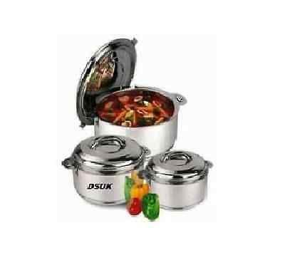 New High Quality Stainless Steel Insulated Serving Dish Hot Pot