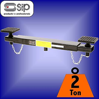 SIP 03862 Professional 2 ton Cross Beam Jack Adaptor car chassis support lift