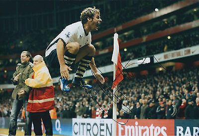 David BENTLEY SPURS SIGNED COA Autograph 12x8 Photo AFTAL Authentic Tottenham