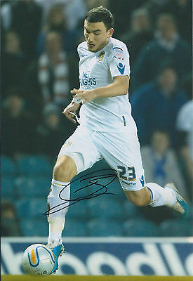 Robert SNODGRASS SIGNED Leeds United Autograph 12x8 Photo AFTAL COA Genuine