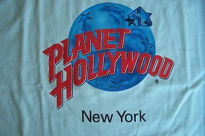 Planet Hollywood New York White Tee Size L XL-Fotos Neu