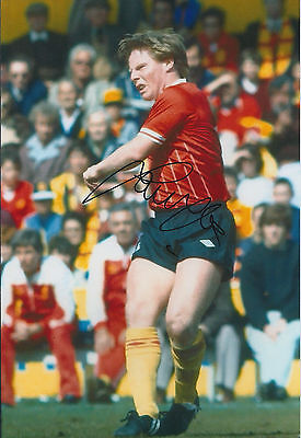 Sammy LEE Signed 12x8 Photo AFTAL COA Autograph Liverpool LEGEND