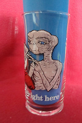 1982 Pizza Hut 16oz  ET The EXTRA TERRESTRIAL I'll Be Right Here Glass