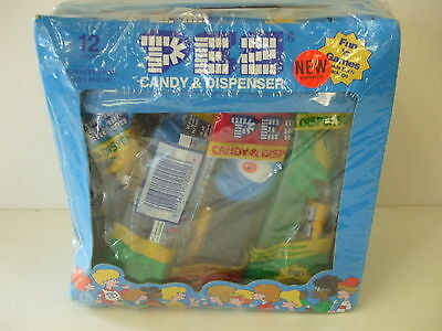 PEZ #355 Bugz - Counter Top display 12 Pack Box - Brand New and Sealed Box