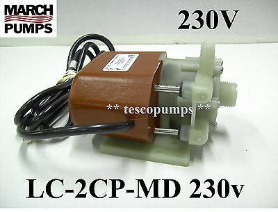 March Pump 0125-0057-0200 March Air Conditioning Pump 250 GPH  LC-2CP-MD 115 Vol