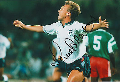 David PLATT Signed Autograph 12x8 Photo AFTAL COA ENGLAND Legend Genuine RARE