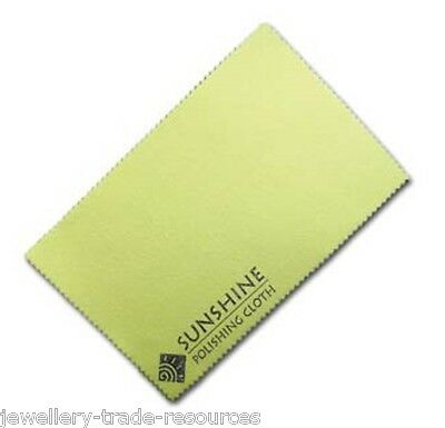 Sunshine Gold & Silver Polishing Cleaning Cloth Jewellery & Jewellers