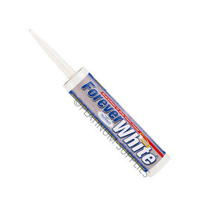 Forever White Clear Ivory C3 Everbuild  Anti-Mould Silicone Sealant Steritouch