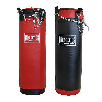 40KG BOXING PUNCHING BAG - DURABLE  PU LEATHE SOLID FILLED - 100CM x 40CM