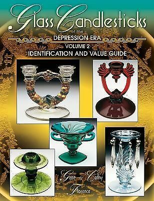 Glass Candlesticks of the Depression Era Vol. 2  Brand New Book Free Shipping