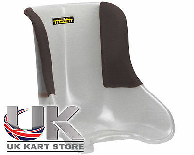 Tillett Seat T11 Soft (VG) Black 1/4 Cover Manetti UK KART STORE