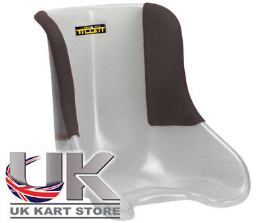 Tillett Seat T11 Soft (VG) Black 1/4 Cover S UK KART STORE
