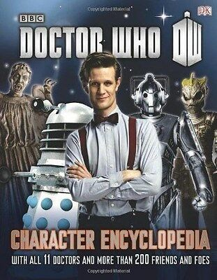 Doctor Who Character Encyclopedia Book DW Hardback New BBC
