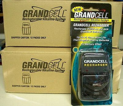 Rechargeable Alkaline Batteries >> Grandcell Aa Aaa Rechargeable Alkaline Battery Charger
