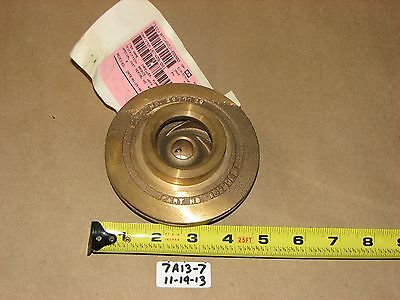New Peerless Pump Bronze Pump Impeller 2677739-011